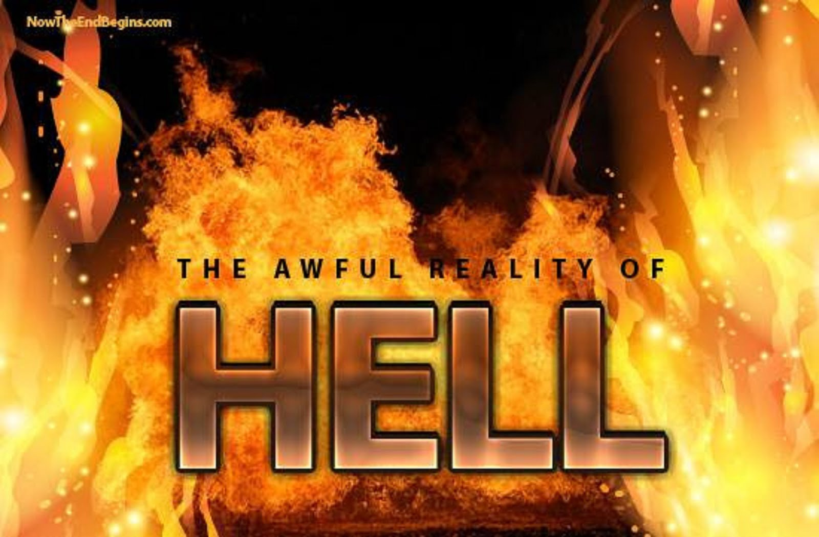 THE AWFUL REALITY OF HELL