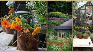 Una de Instagram. Inspiración y jardín con Viktoria Lillagrona en Suecia