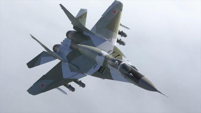 Argentina ordena compra de 15 aviones de combate rusos