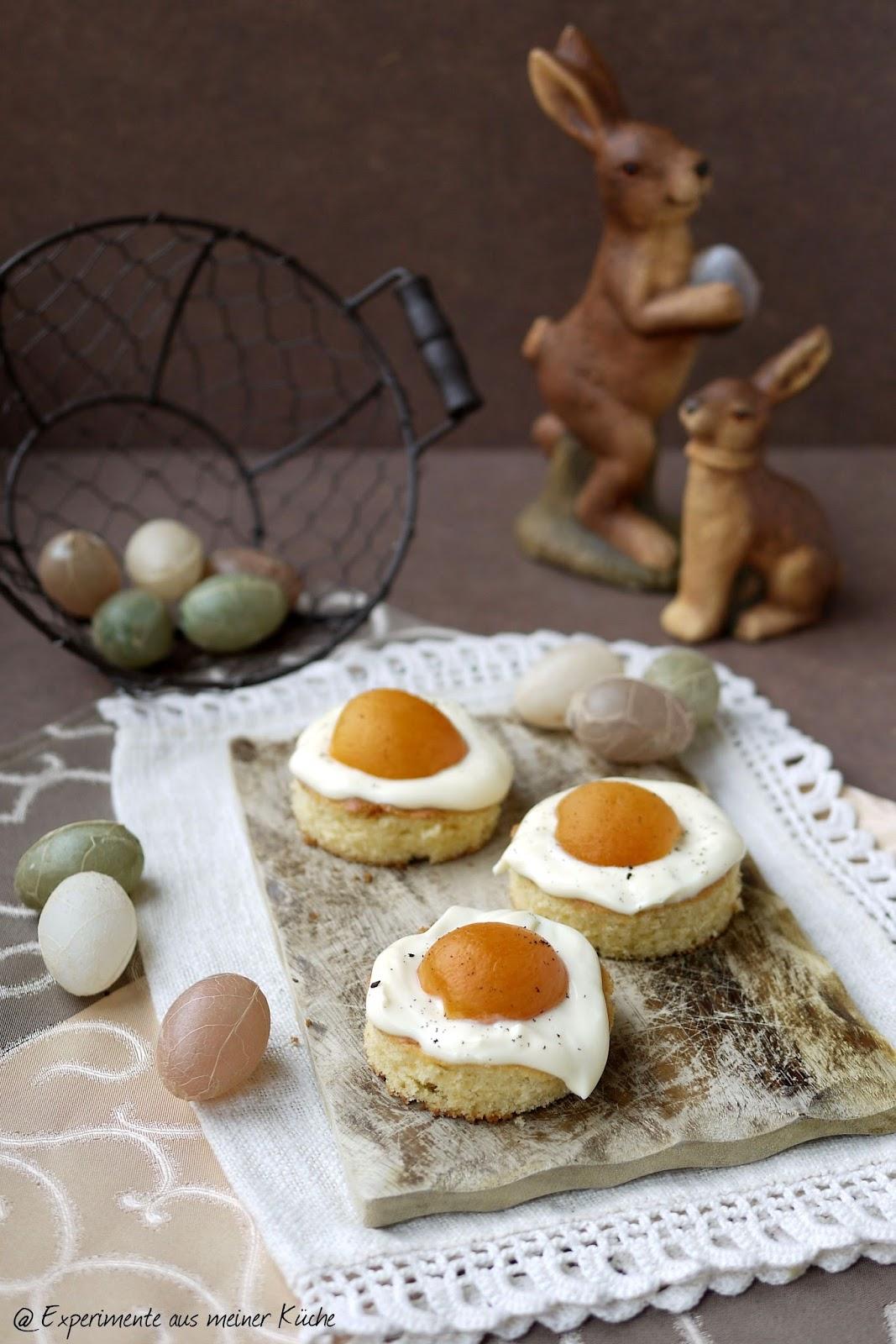 Experimente aus meiner Küche: Spiegeleikuchen #ichbacksmir