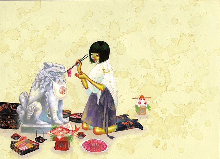 Позитивные картинки японского художника