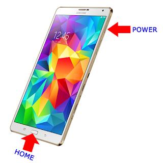 Cara Screenshot Samsung Galaxy Tab S8.4 dengan Cepat