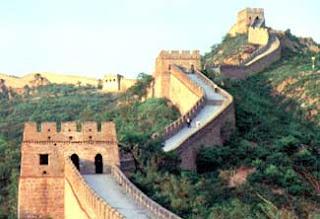 7 keajaiban dunia baru tembok besar China