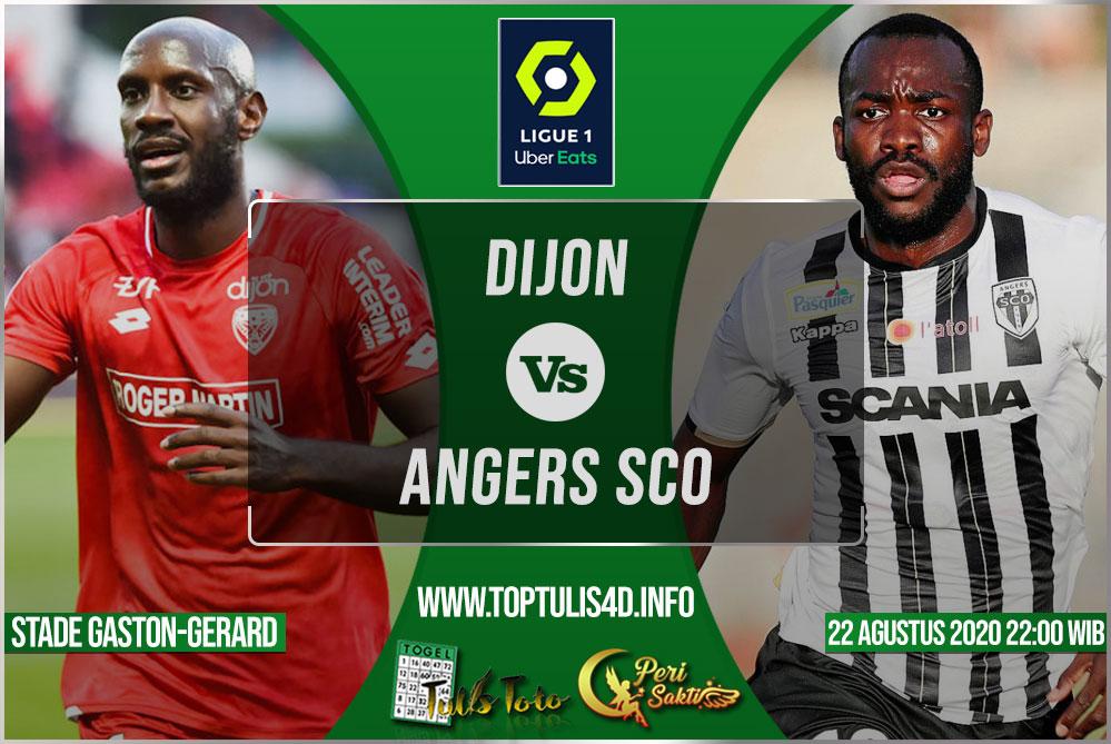 Prediksi Dijon vs Angers SCO 22 Agustus 2020