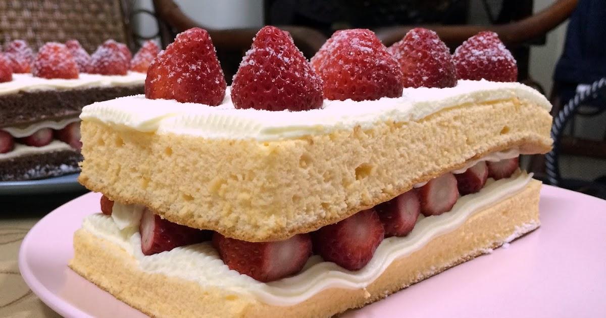 生活的甜蜜: 士林宣原蛋糕專賣店:雙層草莓蛋糕,巧克力雙層草莓蛋糕