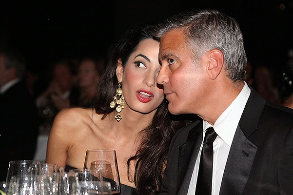 VIP couples flittert in Seychelles_George Clooney and Amal Alamuddin