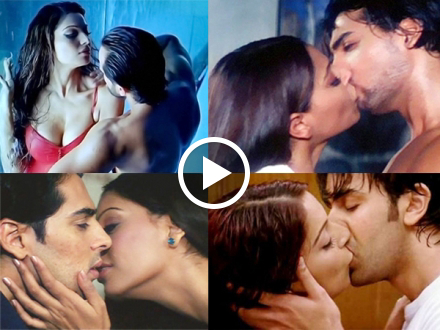 Top 10 Hottest Forced Kisses in Bollywood!