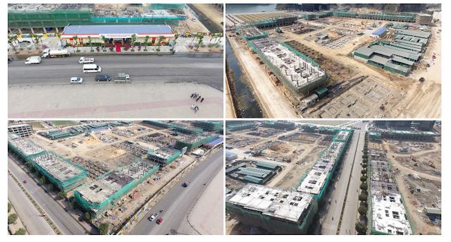Tiến độ công trường xây dựng Mon Bay Hạ Long