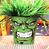 How to Make your Own Superhero - The Hulk Head Plant Holder