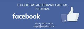capital federal - 100 Etiquetas fasco poliamida
