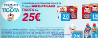 Logo Premiati con Tigotà e Omino Bianco: vinci 500 card Tigotà da 25€