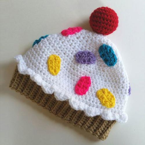 Cupcake Hat - Free Pattern
