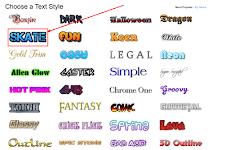 Membuat Header Logo Text Yang Mudah dan Cepat Serta Menarik dan Keren Untuk Bloogger Kita