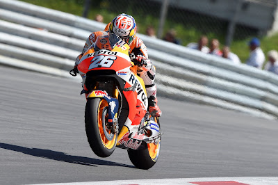 O Pedrosa κατέκτησε την πρώτη θέση στο Misano ενώ ο Marquez τερμάτισε στην τέταρτη θέση