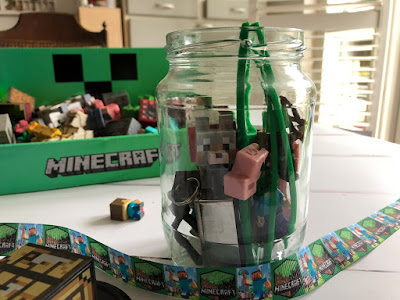 Minecraft gift in a jar idea