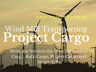 shipping services for Project cargo, Over Dimension Cargo, and Wind Mill