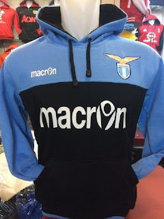 gambar jaket photo sweater Jaket hoodie sweater Lazio warna biru hitam terbaru musim 2015