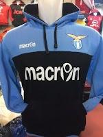 Jaket hoodie sweater Lazio warna biru hitam terbaru musim 2015