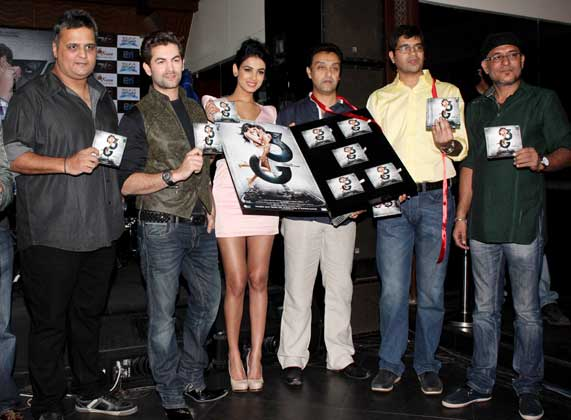 Sonal Chauhan at 3g movie music launch