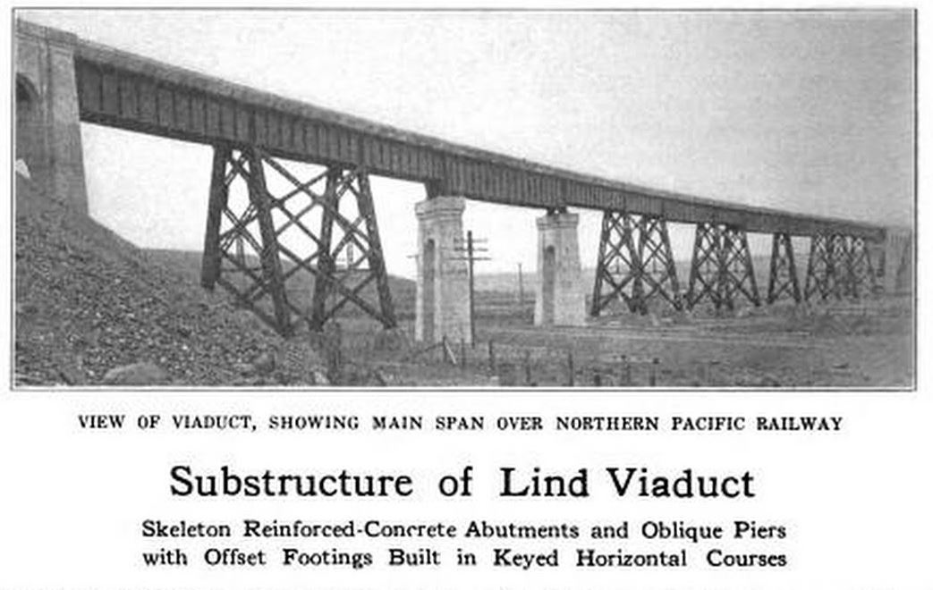 Big Bend Railroad History: Milwaukee Road Lind Bridge Plans Railroad Bunkhouse Plans on railroad stove, railroad pickup truck, railroad camp, railroad roundhouse, railroad dining car, railroad control room, railroad shed,