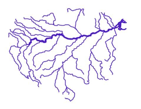 Схема рек с притоками фото 825