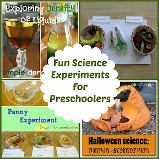 Mom's Library Science Experiments for Preschoolers