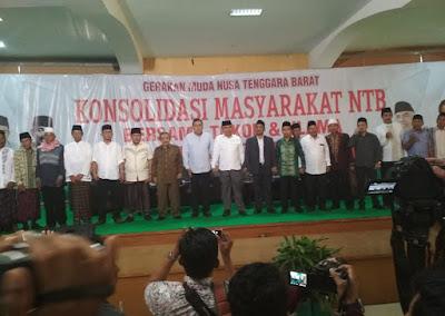 GM NTB Dukung Keputusan TGB untuk Jokowi 2 Periode