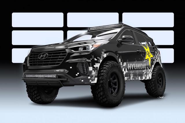 Flashback Show The Bigges Car Modification at SEMA 2016 hyundai