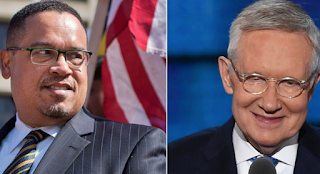 Harry Reid Backs Rep. Keith Ellison for DNC Chair, Cites Need for 'New Thinking'