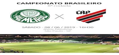Como assistir Palmeiras x Athletico-PR ao vivo na TV e online