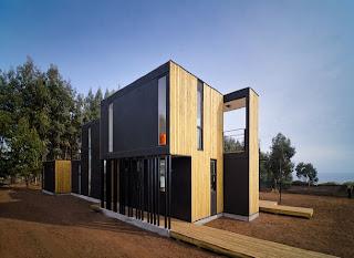 Casa de diseño. Chile