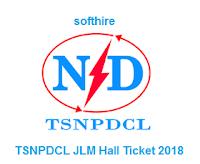 TSNPDCL JLM Hall Ticket