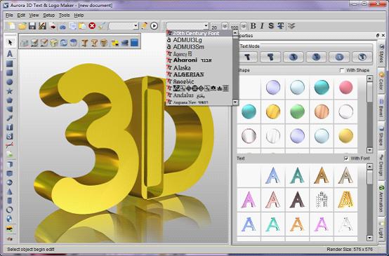 Line Art Software Free Download : Aurora 3d text & logo maker latest version ciit cluster the