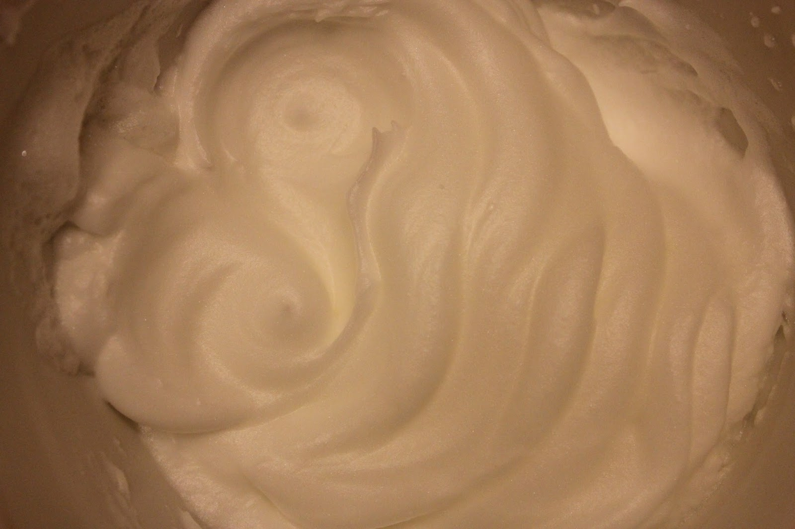 Organic egg whites whipped