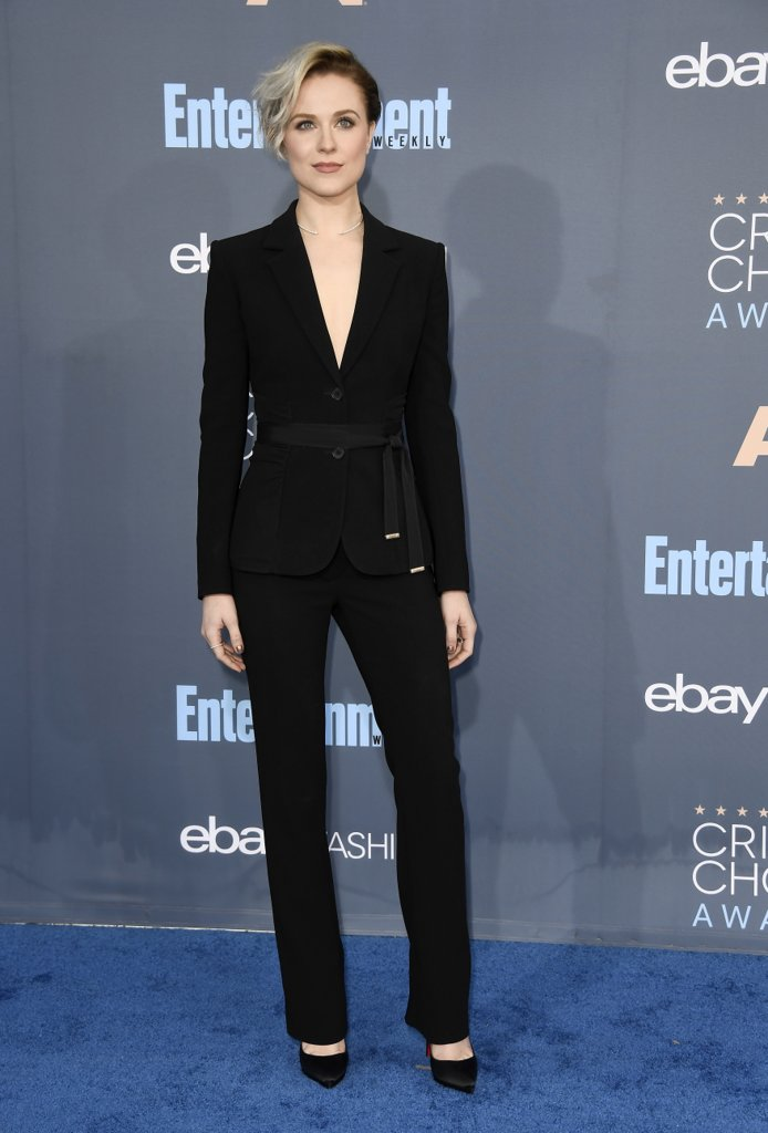 Critics Choice Awards 2016, Evan Rachel Wood, red carpet
