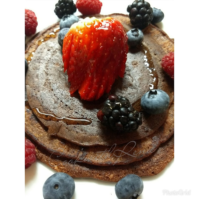 Whole Wheat Chocolate Banana Pan Cake