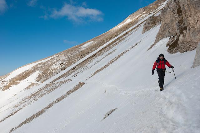 Sentiero Estivo per sella di monte Aquila