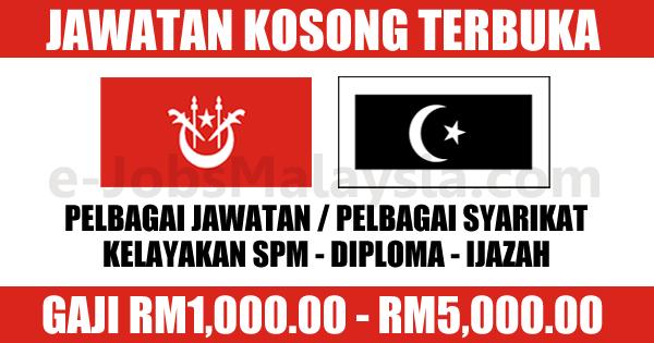 Jawatan Kosong Terbuka Di Kelantan Dan Terengganu
