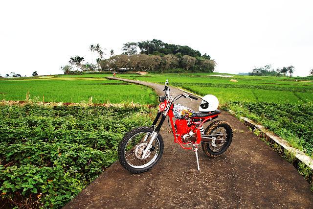 Honda Megapro GL160D Scrambler 5
