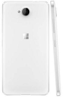 tampilan belakang Microsoft Lumia 650