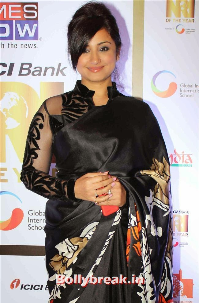 Divya Dutta, Monali Thakur, Pooja Bedi, Amitabh  NRI of The Year Awards 2014