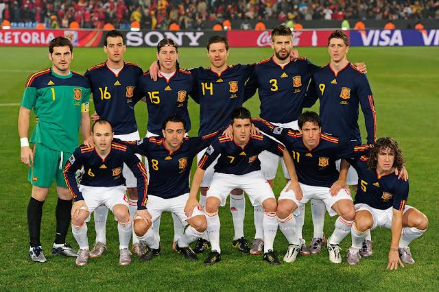 Formación de España ante Chile, Copa del Mundo Sudáfrica 2010, 25 de junio