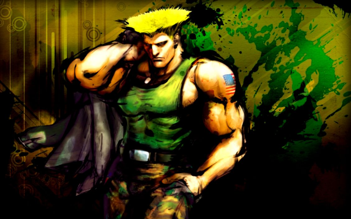 Guile In Street Fighter Wallpaper Hd Wallpapers Gallery