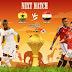 مباراة مصر وغانا اليوم والقنوات الناقلة بى أن ماكس HD1