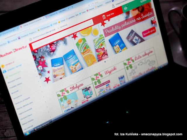 zakupy swiateczne, sklep internetowy, e sklepy, zakupy w sieci, zrob zakupy na swieta, auchan direct