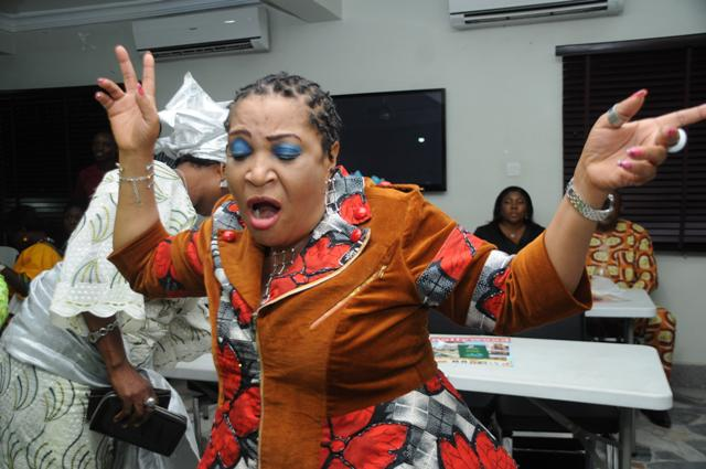 Pics From Ngozi Nwosu's 50th Birthday Old School Party