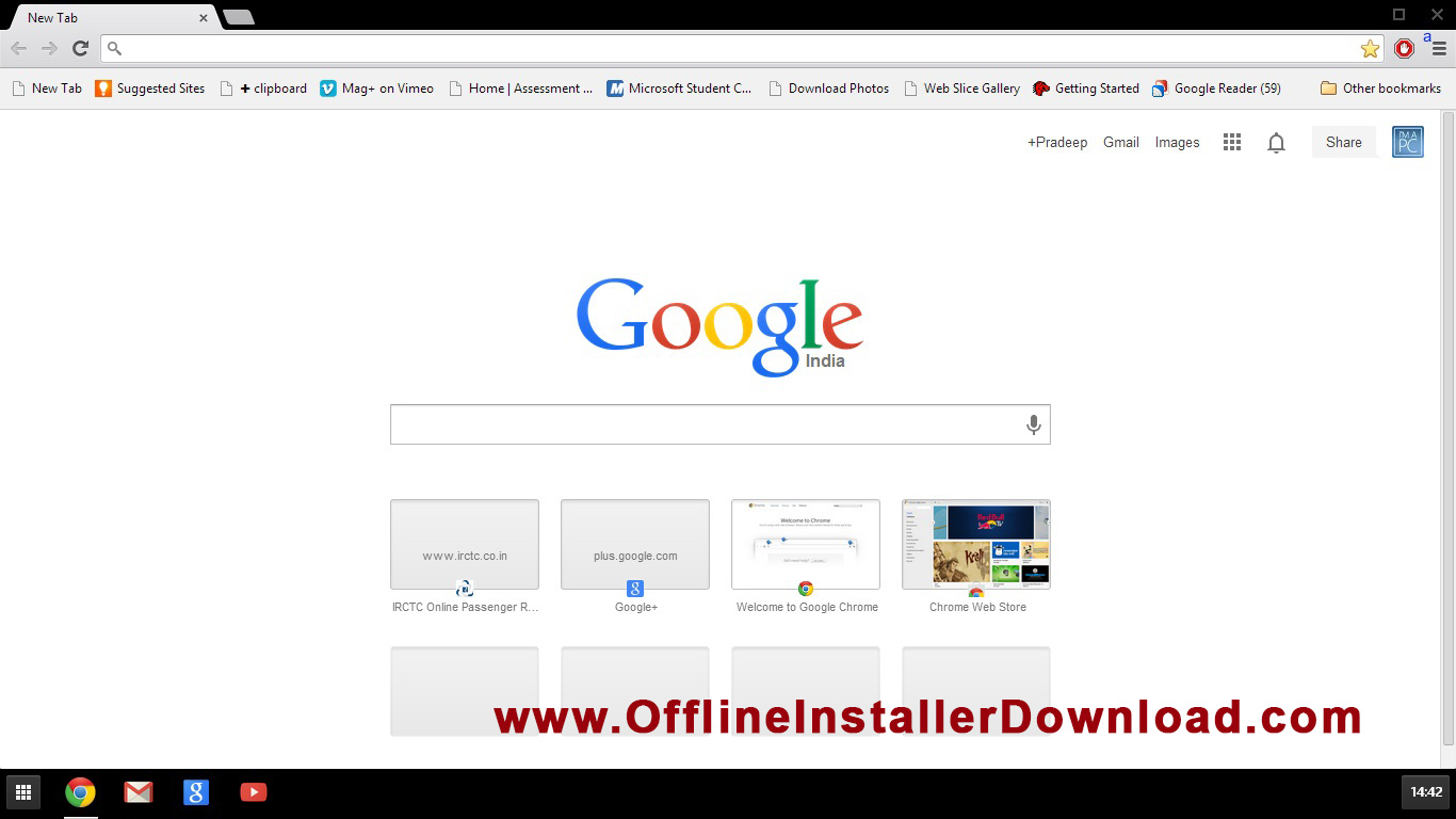 Download Chrome - MVlC