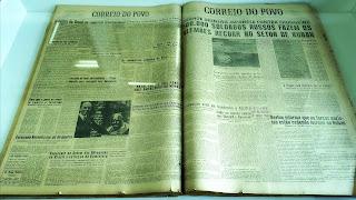 Antiga Edição do Jornal Correio do Povo, Museu Antropológico Caldas Júnior, Santo Antônio da Patrulha