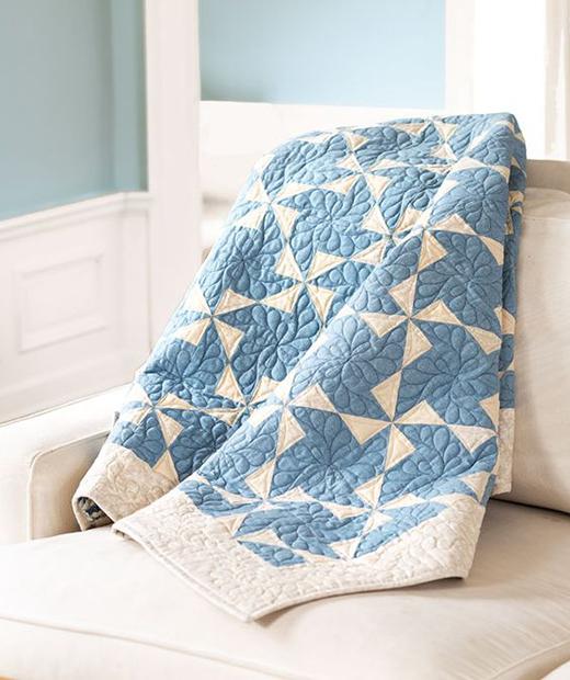 Pinwheels & Paddlewheels Quilt Free Pattern