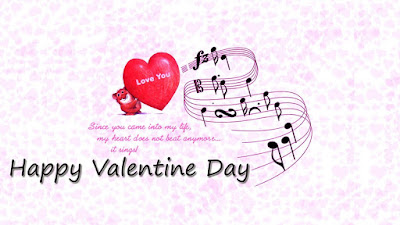 sionce you come into my life my heart does not anymore it sings happy valentine day - Happy Valentines Day 2018 Messages SMS Quotes